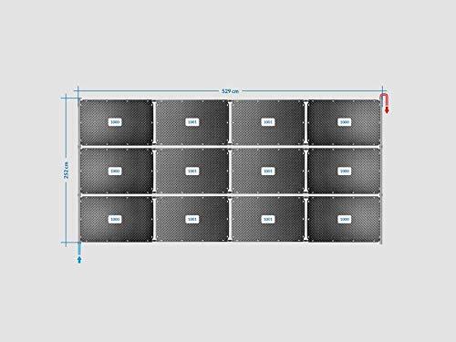 OKU Solarabsorber Pool-Solarheizung Set 24