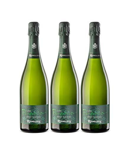 Cava Rovellats - 3 botellas Premier Brut Nature - D.O....