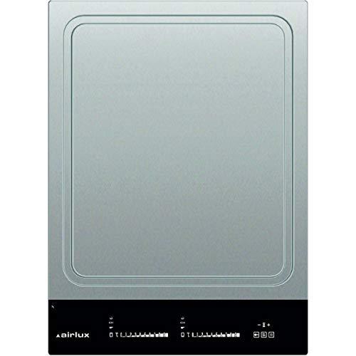 Plaque Induction 2 feux-Airlux ATPN42BK - Plaque de cuisson Induction - Dimensions produit (LxP en cm) : 38 / 52