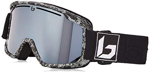 bollé MADDOX Black Marble Matte / Black Chrome Cat.3 | Medium-Large - Gafas de esquí Unisex-Adulto 20.7 x 11.1 x 10.1 cm