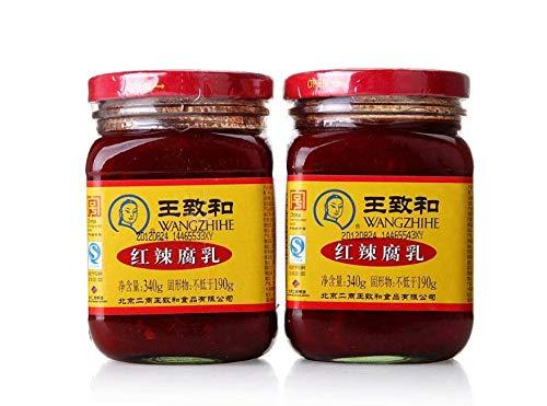 王致和 紅辣腐乳 発酵豆腐 辛口 激辛ラー油 340g×2点
