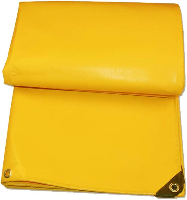 Tarpaulin Tarpaulin Rainproof Cloth Thick Waterproof Tarpaulin Outdoor Sunscreen Awning Cloth Tarpaulin (Size   4x6M)