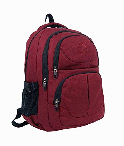 """Outdoor Gear-39,62 cm (15,6"""") resistente all'acqua per Laptop College-Zaino da viaggio, borsa da lavoro 1412"""