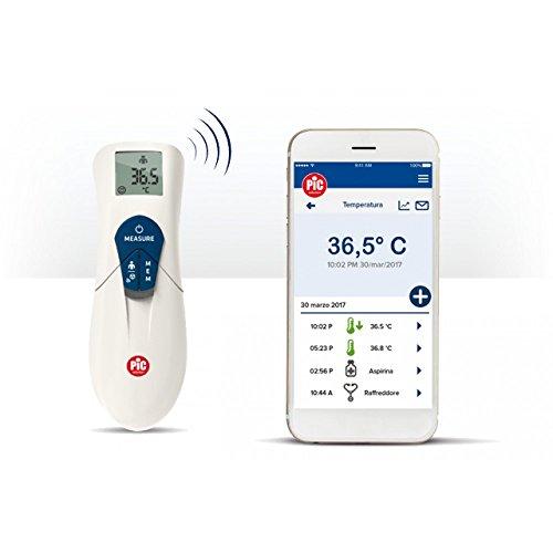 Pic Solution ThermoDiary Head - Termómetro digital con infrarrojos