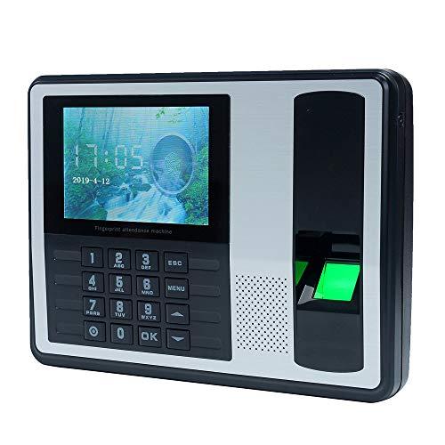 """Inteligente biométrico contraseña máquina de la atención, Empleado Check in nómina del Registrador 4.0"""" DC 5V atención del Tiempo Reloj"""