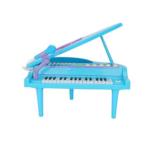 YSJJWDV Pianos Infantiles Conecte USB de 32 Teclas Piano Digital Eléctrico con...