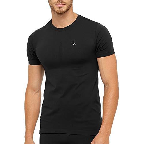 T-Shirt Lupo Masculina Térmica I Power (Adulto) Tamanho: M | Cor: Preto