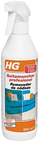 HG Quitamanchas Profesional alfombras moquetas-tapiceria, Blanco, 500ml