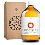 DMSO 1000 ml (99,9% Reinheit) in brauner Glasflasche