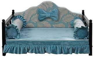 Cat nest pet bed-Four seasons universal Cama para mascotas extraíble y lavable a prueba de mordidas cama de hierro cama princesa sofá cojín perrera en cama grande para perros, Black Friday, el mejo