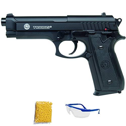 PT92 CyberGun Taurus Pistola de Airsoft Calibre 6mm (Arma Aire Suave de Bolas de plástico o PVC). Sistema: Muelle. <3,5J