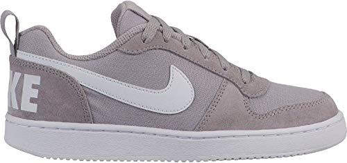 Nike Court Borough Low PE (GS), Zapatillas de Baloncesto Hombre, Multicolor (Atmosphere Grey/White 000), 36 EU
