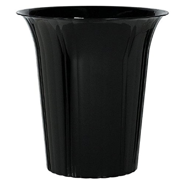 Amscan Medium Plastic Flared Cylinder Party Tableware, 40 oz, Black