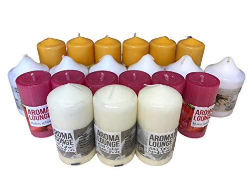 HMH 5 Kg Duft Stumpen gemischt Stumpenkerzen Votivkerzen Duftkerzen NEU&OVP (4,39 € / kg)