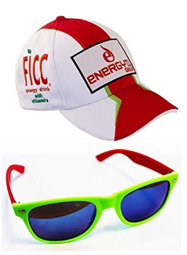 Pramac Ducati MotoGP Racing Team Hernandez Nr. 68 Cap und Sonnenbrille