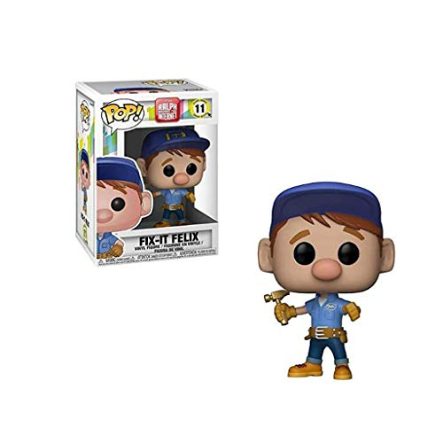 Luck7DZ Pop Wreck-It Ralph 2 - Fix-IT Felix de Colección Paisaje de la decoración Figura, Multicolor - 3.9inch
