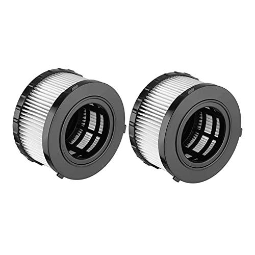 WANGYA Filtro de aspiradora Filtro de Aire de Alta eficiencia para DEWALT DC5151H DC515 Accesorios de reemplazo de aspiradora Seca húmeda filtros de aspiradoras (Color : Yellow)