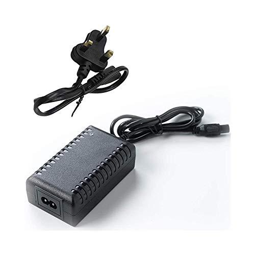 CRXL shop-Heizdecke 42V 2A elektroroller Ladegerät, Hoverboard ladekabel,Batterieladegerät für Elektromobil (Size : EU Plug)