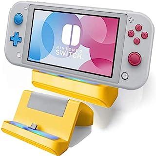 TNE – Suporte de carregador Switch Lite | Mini suporte de estação de carregamento com porta USB tipo C para Nintendo Switc...