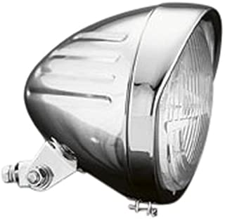 Highway Hawk 68-127 Tech Glide Headlight, Chrome