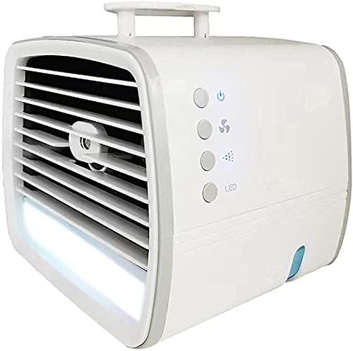 wangYUEQ Refrigeratore del condizionatore d'Aria Portatile, Mini Dispositivo di Raffreddamento dell'Aria,USB Mini Colourful Night Light Desktop Air Cooler, umidificatore Spray per casa e Ufficio