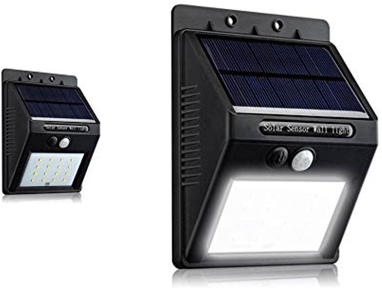 NBDPF 20LED Motion Sensor Light Solar Light Outdoor Wall Safety Light Waterproof Super Bright Wireless Solar Light geeignet für Garten, Passage, Courtyard