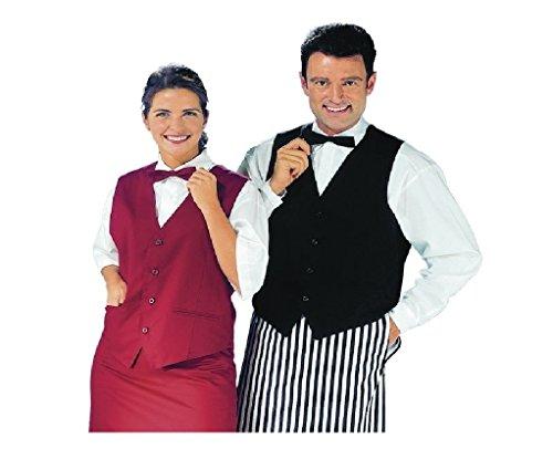 Leiber Berufsbekleidung Gastronomie Weste Damen & Herren L Schwarz