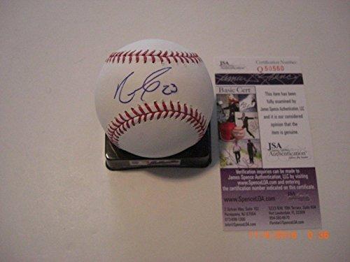 Nelson Cruz Mariners,texas Rangers Jsa/coa Signed Mlb Baseball - Autographed Baseballs