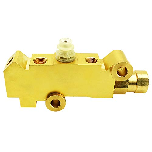 PV4 Brass Combination-Proportioning Valve, 172-1361 PV71 Disc-Disc Brake System Fit for Ford Chevy Mopar, Proportioning Valve Compatible with 4 Wheel Disc Brakes Trucks