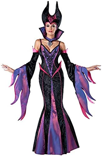 Olydmsky karnevalskostüme Damen Schlafende Zauber SchwarzHexe Halloween Kostüm Bar Party Kostüm Cosplay Leistung Kostüm