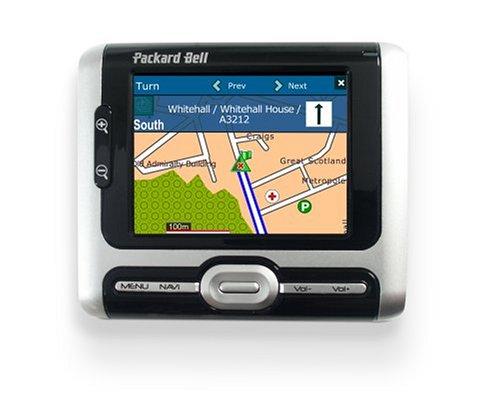 Packard Bell GPS 400 Portable Navigation de Alemania y Europa Occidental