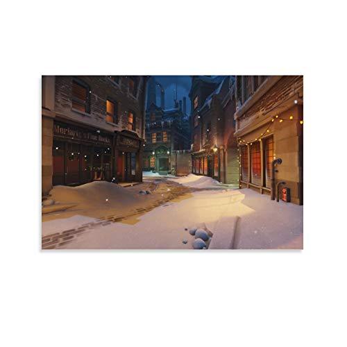 SSKJTC Decoración de sala de estar Baño Decoraciones Rey Camino de la Atalaya Navidad Decoración del Hogar Obra de Arte 40 x 60 cm