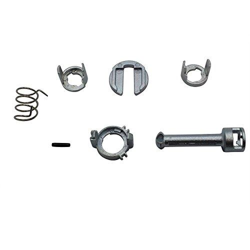 TAKPART Türschloss Schliesszylinder Reparatursatz Ersatzteile Vorne Links oder Rechts für 3er E46 51217019975 51217019973, 51217019974, 51217019976