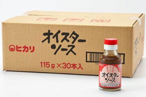 光食品 化学調味料無添加オイスターソース115g×30本