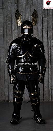 Medieval Epic Traje de armadura gtico del siglo XV