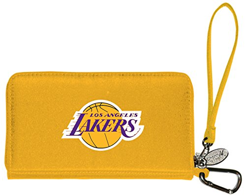 Charm14 NBA - Cartera para teléfono móvil de lujo para mujer - 333713, 7.5' x 4.5', Púrpura