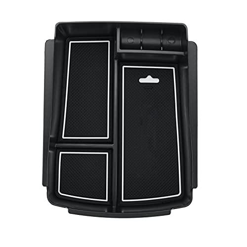 Anteprima Caja De Almacenamiento del Apoyabrazos Ajuste para KIA Sorento 2016 2017 2018 Caja De Almacenamiento De La Consola Central del Automóvil con 3 Almohadillas Accesorios Interiores