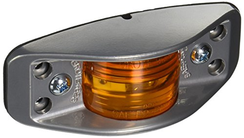 Grote 46283 Die-Cast (Aluminum Clearance Marker Light, Flat Back, No Socket Hole Required)
