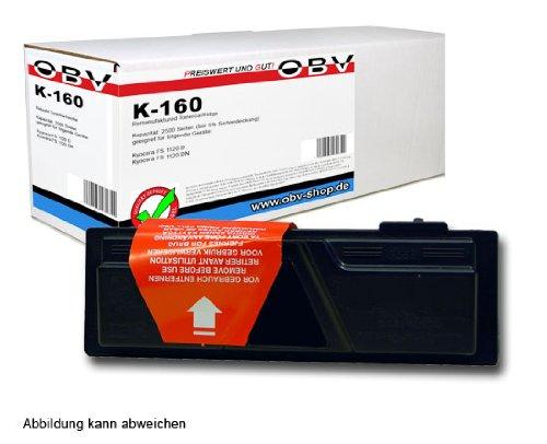 OBV kompatibler Toner ersetzt Kyocera TK160 / TK-160 / 1T02LY0NL0 für FS-1120D / FS-1120DN / P2035d / P2035dn schwarz 2500 Seiten