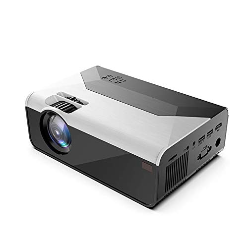 Projector Home Office Hd 1080p Mobile Phone WiFi Wireless Wall Projection Portable 100 Inch Led Light Source for Home Theater Hd Home Portable Mini Projector -  Pinzheng