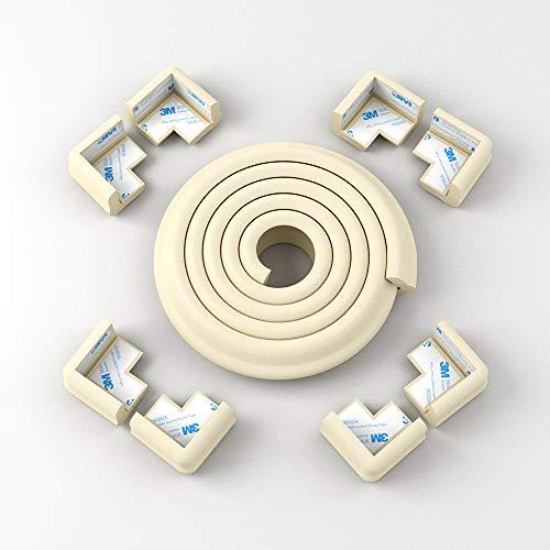 Conjunto de protección para bebés de Flurysar, protección de esquinas, protección para bebés y protección de esquinas, 6 m + 8 guardabarros