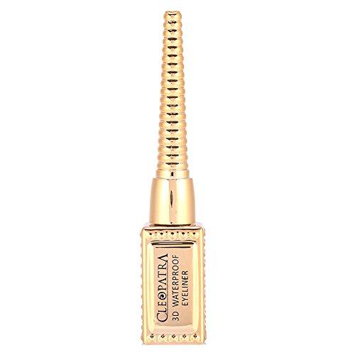 MISS ROSE Liquid Eyeliner Stick Smudge-Proof Waterproof Eye Liner Pen Gold Bottle Makeup