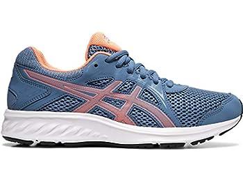 ASICS Women s Jolt 2 Running Shoes 8.5 Grey Floss/Sun Coral