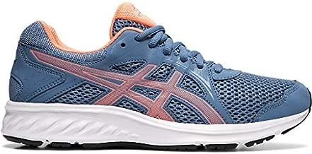 ASICS Women's Jolt 2 Running Shoes, 8, Grey Floss/Sun Coral