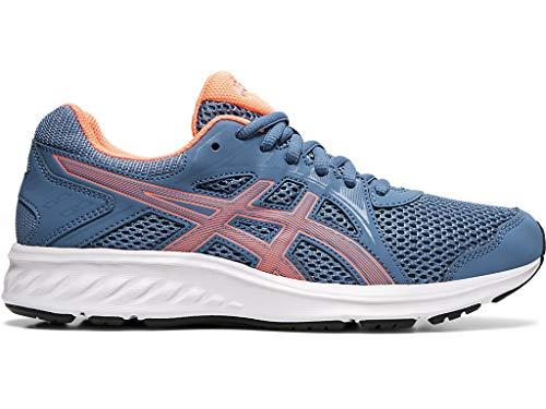ASICS Women's Jolt 2 Running Shoes, 9.5, Grey Floss/Sun Coral