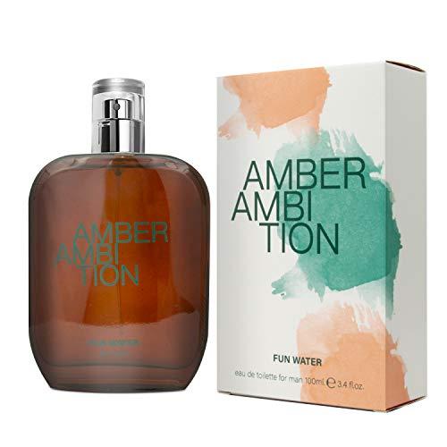 Fun Water Amber Ambition - Fragancia para hombre (100 ml)