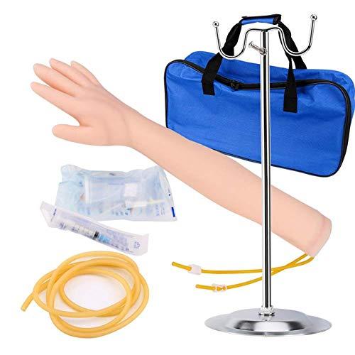 fall Phlebotomie-Arm-Praxis-Kit, IV Übung Arm Pole Kit, für Krankenschwester Lehrling Arzt intravenöse Injektion, Infusion, Blutzeichnungsverfahren Übungsverbesserung