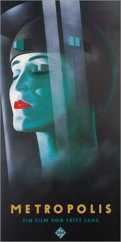 Acrylglasbild 50 x 100 cm: Metropolis von Entertainment Collection - Wandbild, Acryl Glasbild, Druck auf Acryl Glas Bild