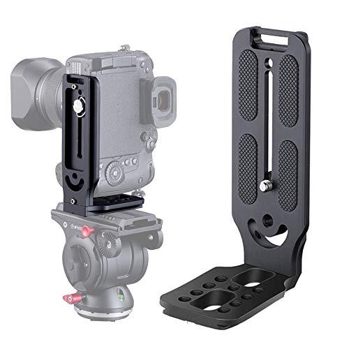 DSLR Camera L Bracket Vertical Horizontal Switching Tripod Head Quick...