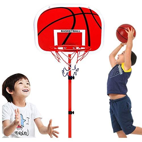 GAO-bo Niños Ajustable Protable Conjunto de Baloncesto Altura Ajustable for niños jóvenes Juego de Interior al Aire como un Juguete Educativo